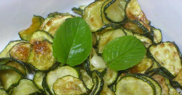 zucchine con menta